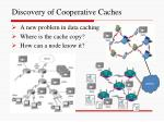 discovery of cooperative caches