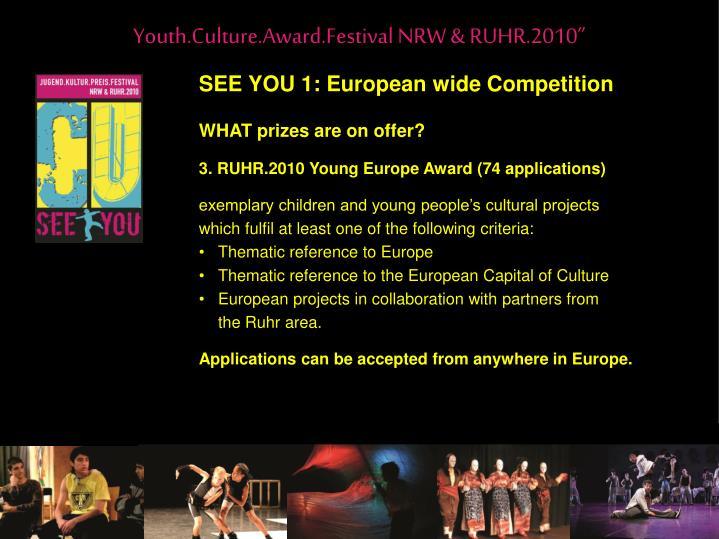 """Youth.Culture.Award.Festival NRW & RUHR.2010"""""""
