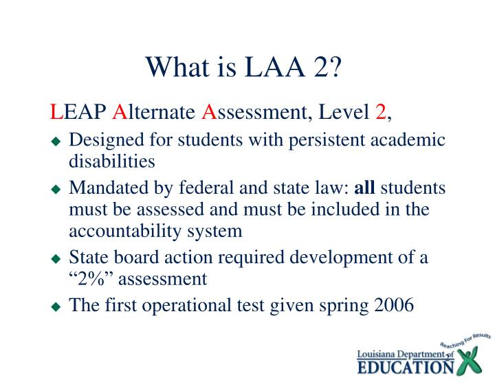 What is laa 2