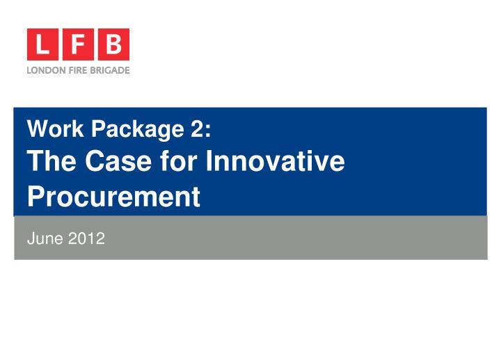 Work Package 2: