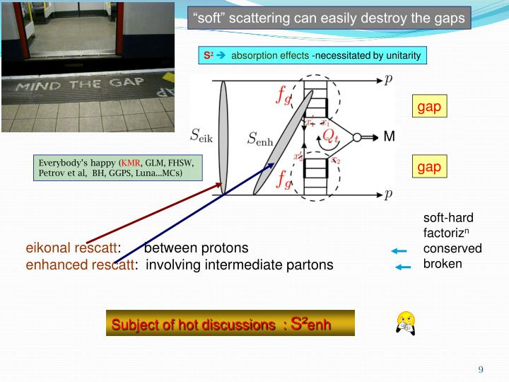 """soft"" scattering can easily destroy the gaps"