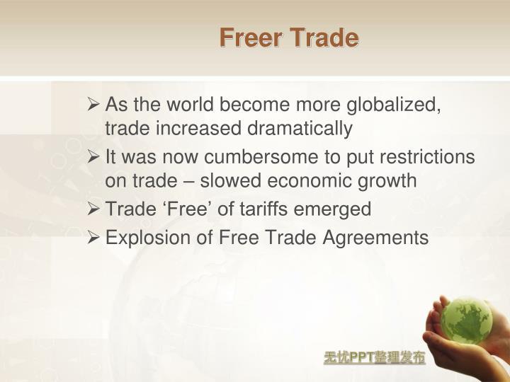 Freer Trade