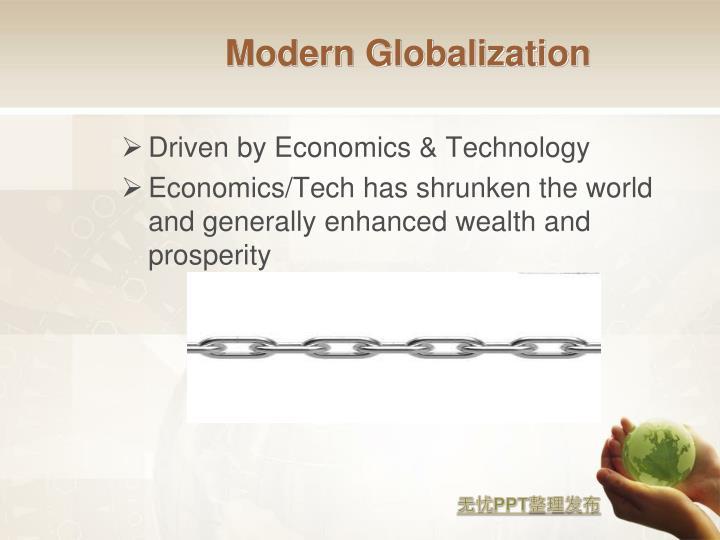 Modern Globalization