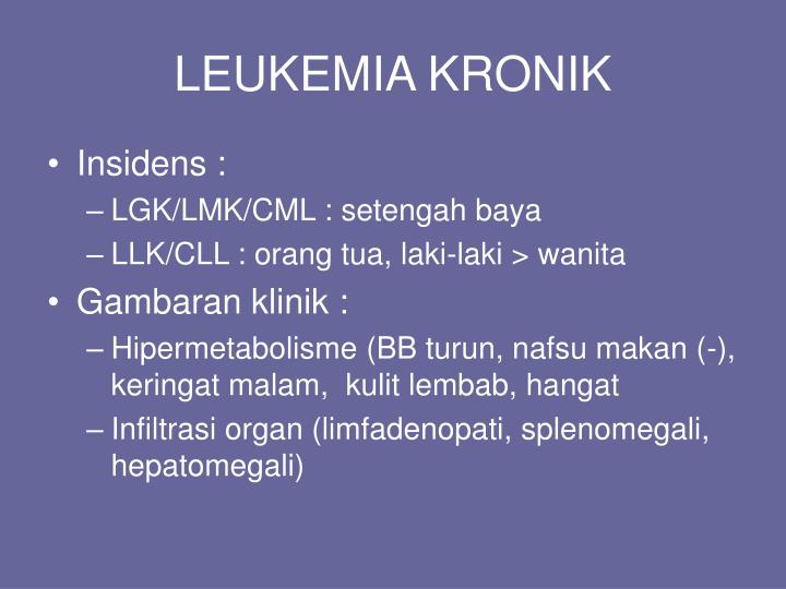 LEUKEMIA KRONIK