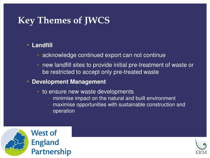 Key Themes of JWCS