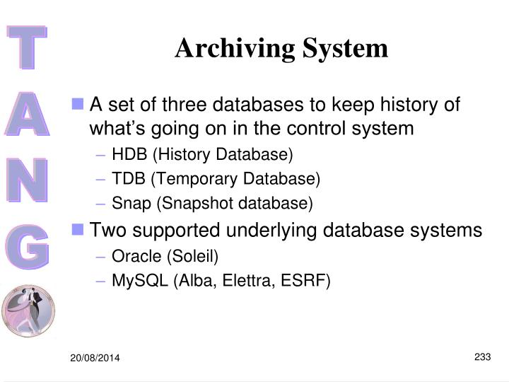 Archiving System