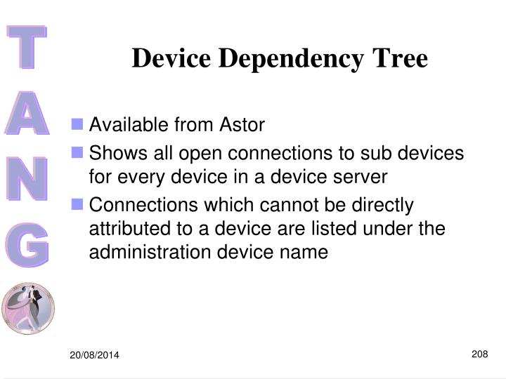 Device Dependency Tree