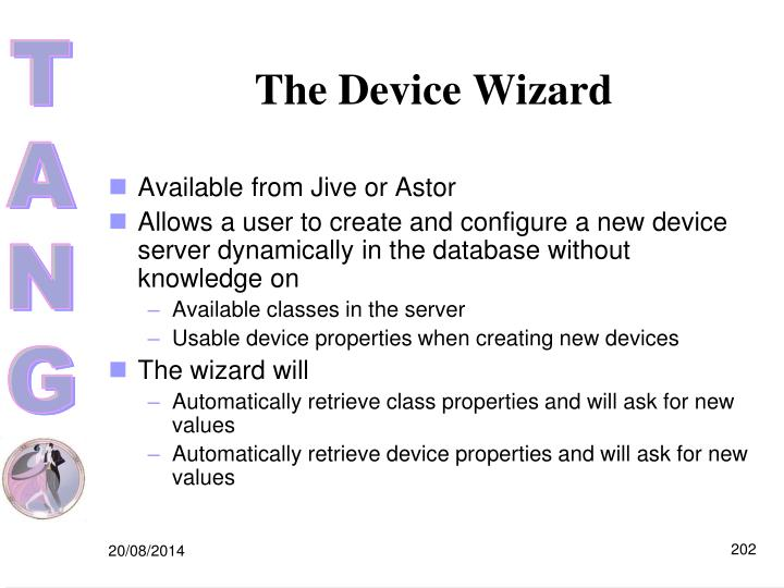The Device Wizard
