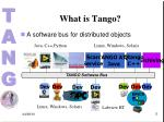 what is tango1