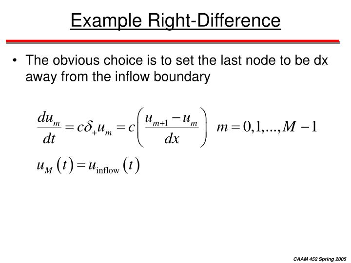 Example Right-Difference