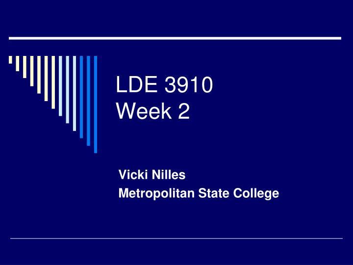 LDE 3910