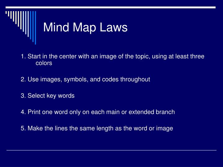 Mind Map Laws
