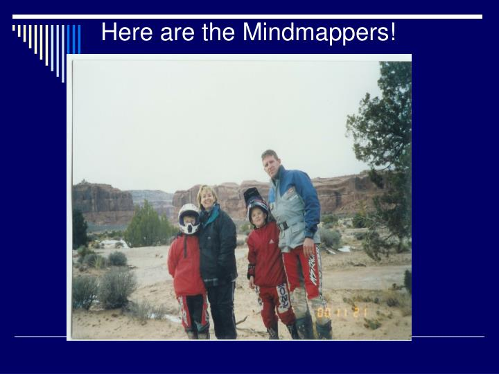 Here are the Mindmappers!