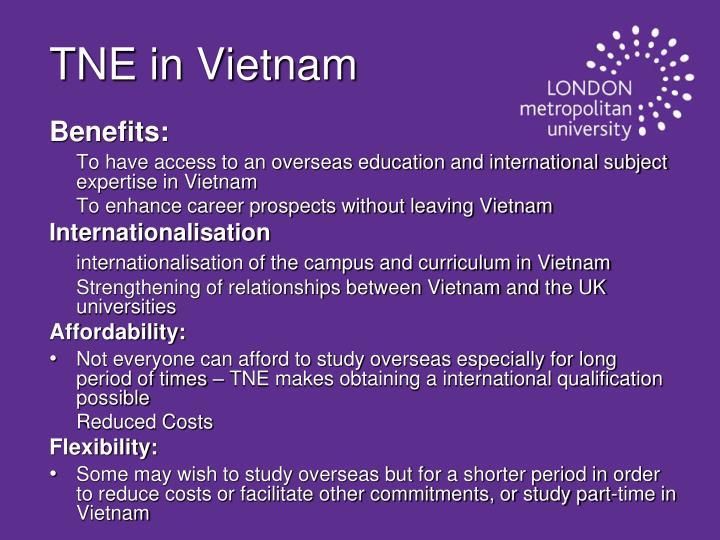 TNE in Vietnam