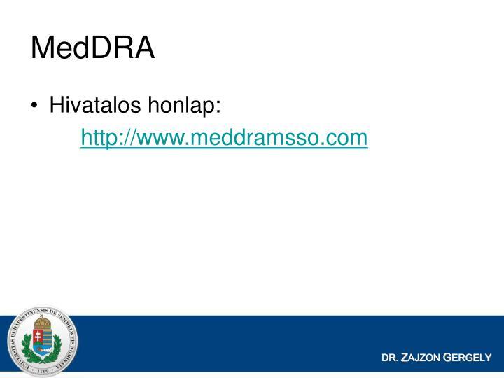 MedDRA