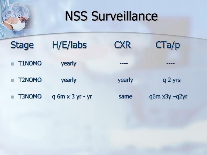 NSS Surveillance