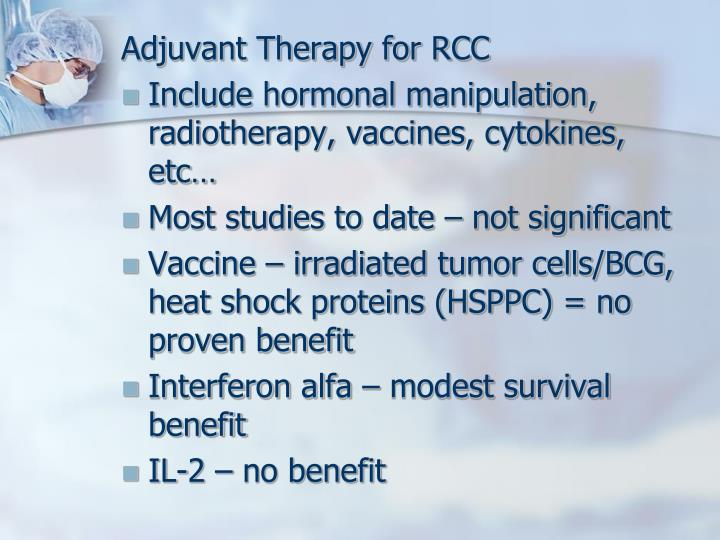 Adjuvant Therapy for RCC