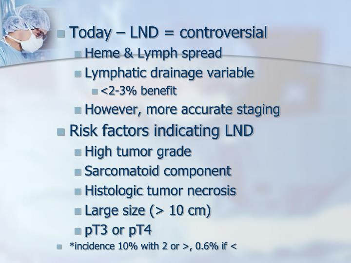 Today – LND = controversial