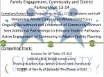 family engagement community and district partnerships 13 14