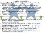 student success 13 14