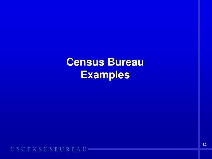 Census Bureau
