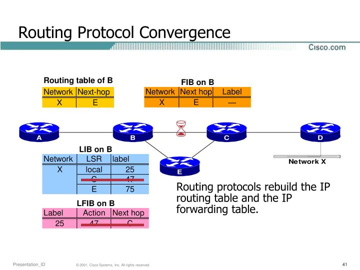 Routing Protocol Convergence