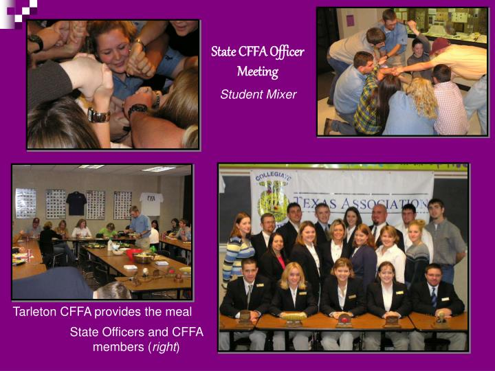 State CFFA Officer Meeting