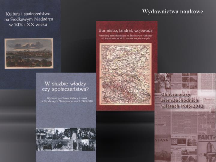 Wydawnictwa naukowe
