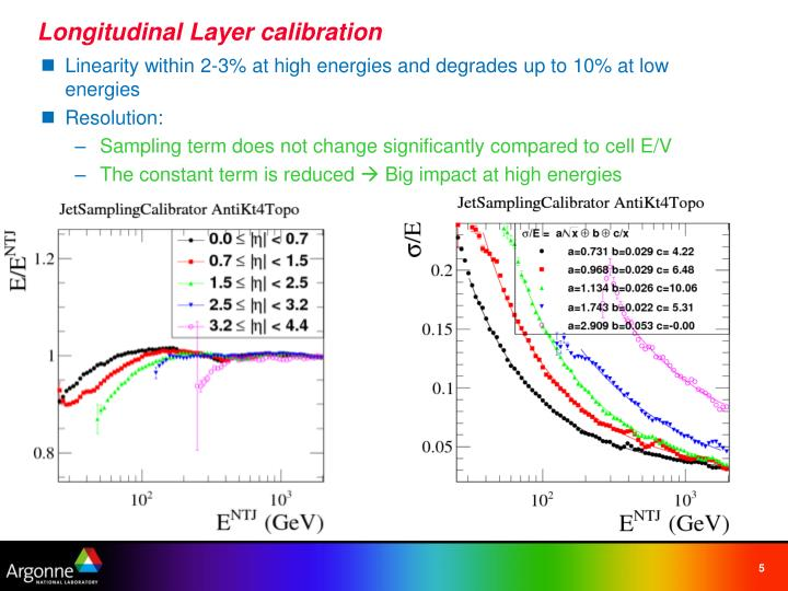 Longitudinal Layer calibration