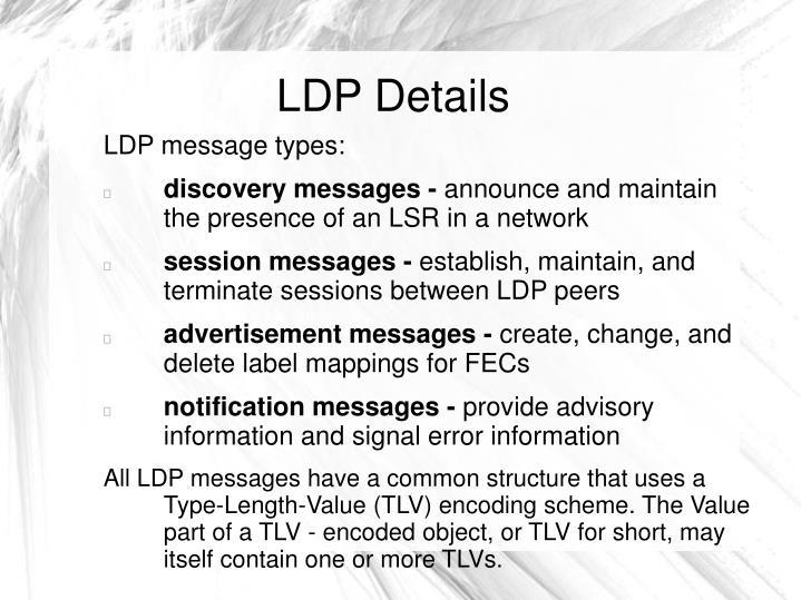 LDP Details