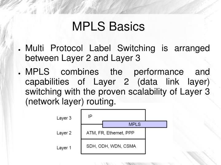 MPLS Basics