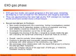 exo gas phase