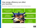 how energy efficiency can affect your business