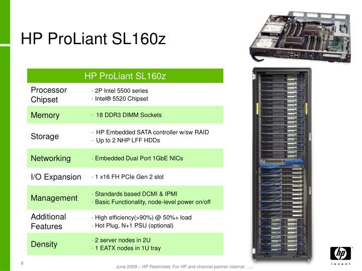 HP ProLiant SL160z