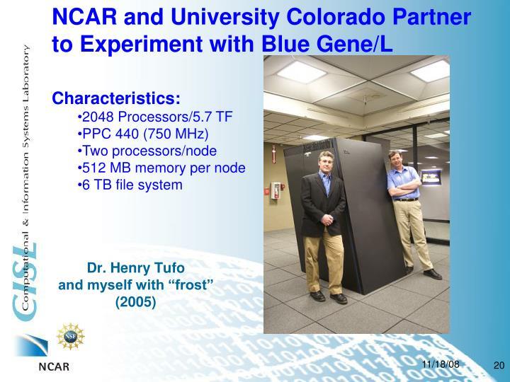 NCAR and University Colorado Partner