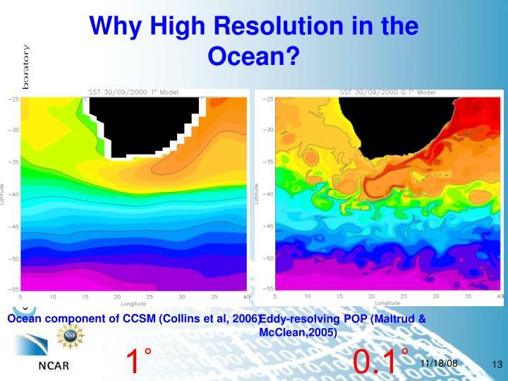Ocean component of CCSM (Collins et al, 2006)