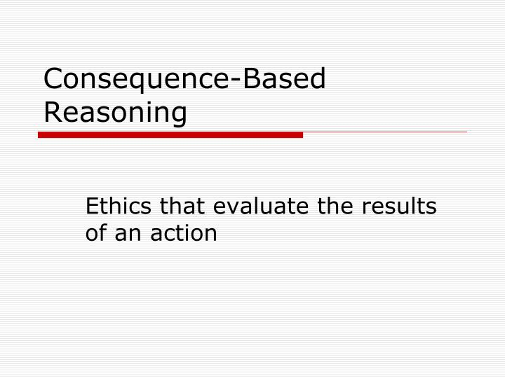 Consequence-Based Reasoning