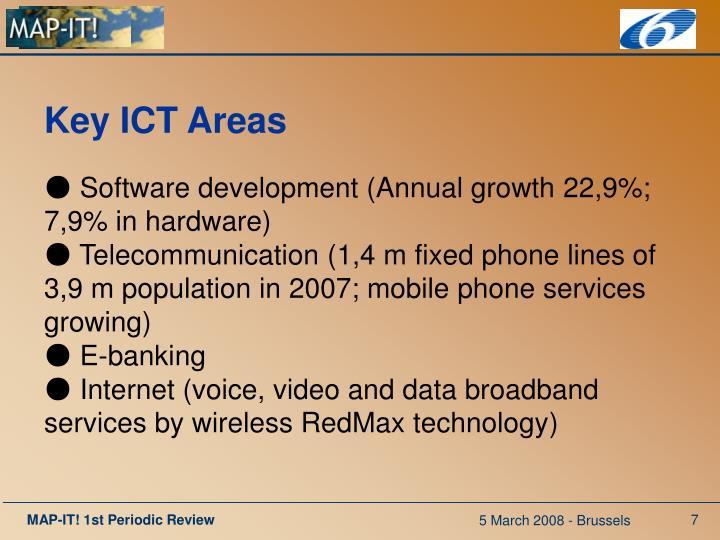 Key ICT Areas