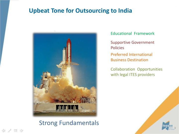 Upbeat Tone for Outsourcing to India