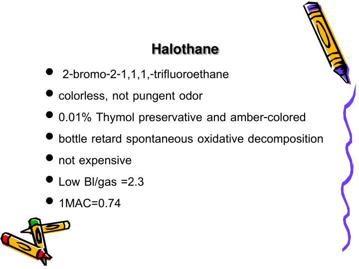 Halothane
