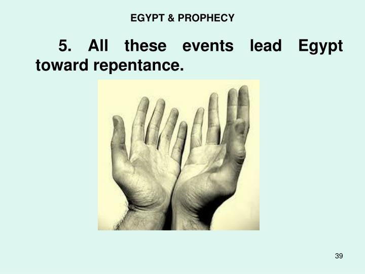 EGYPT & PROPHECY
