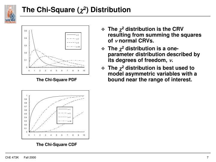 The Chi-Square (