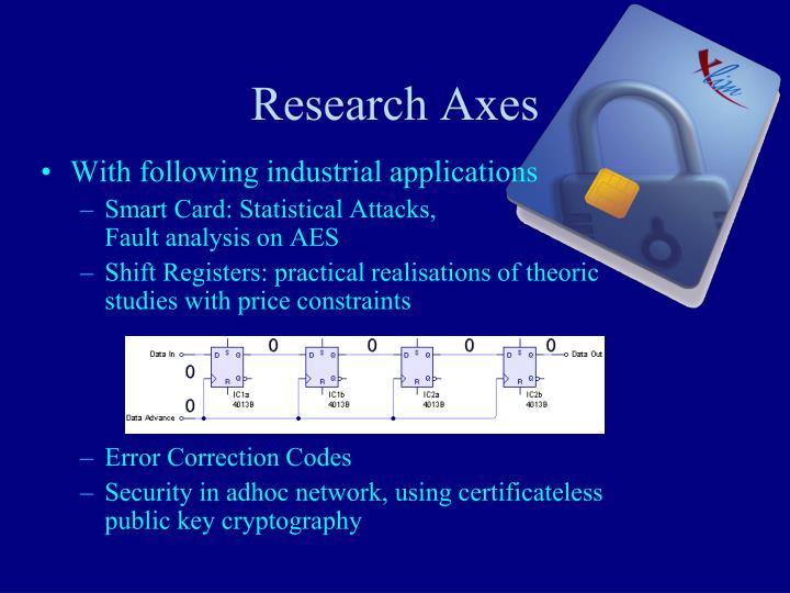 Research Axes