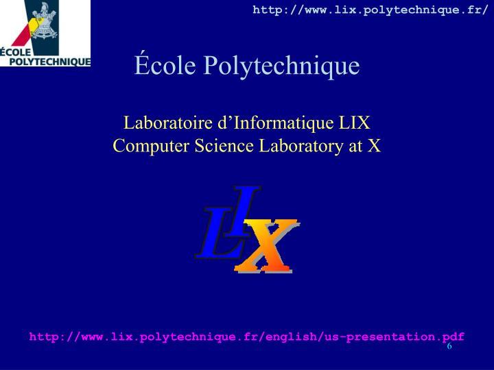 http://www.lix.polytechnique.fr/