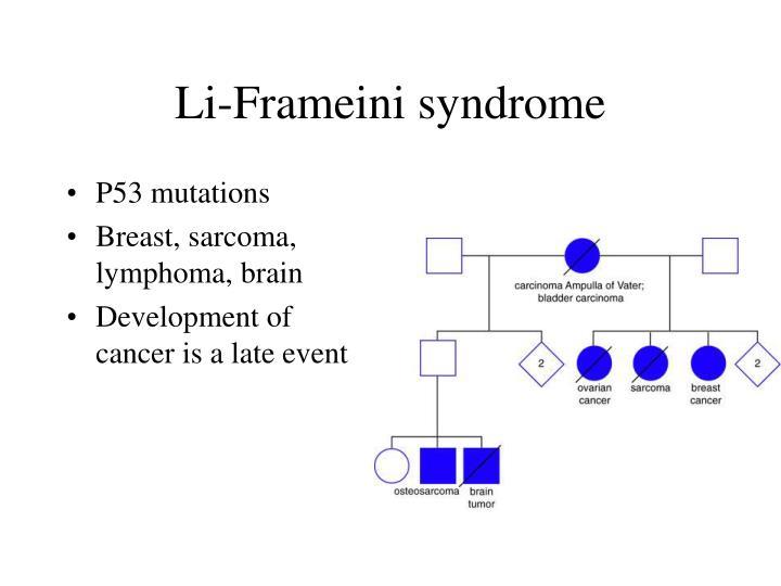 Li-Frameini syndrome
