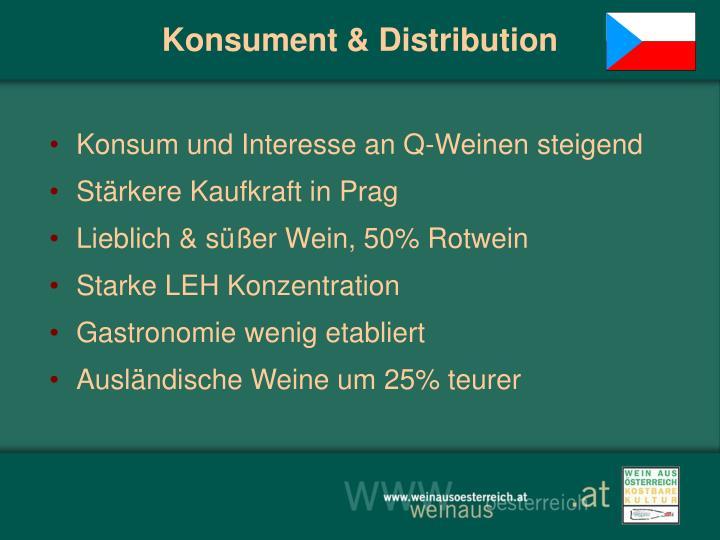 Konsument & Distribution