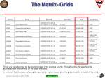 the matrix grids