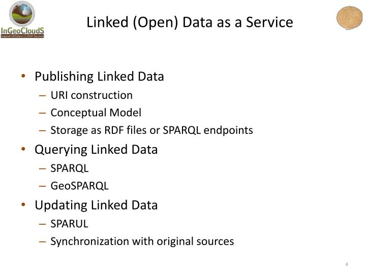 Linked (Open) Data as a Service