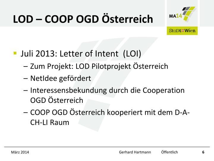 LOD – COOP OGD Österreich