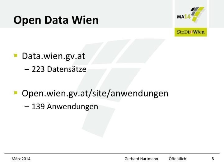 Open Data Wien